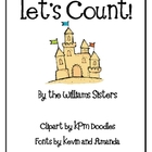 Let's Count Summer Beach Fun Numeral Cards