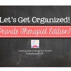 Let's Get Organized: Private SLP Edition!