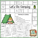 Let's Go Camping--Commas in a Series