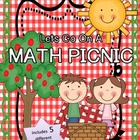 Let's Go on a Math Picnic! { 5 Fun Math Centers }