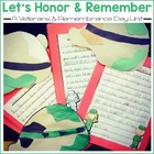 Let's Honor and Remember A Remembrance/Veterans Day Read A