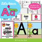 Phonics Letter Sound Aa Phonics Resource Packet