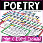 Let's Learn About Poetry {Common Core Standard 10}