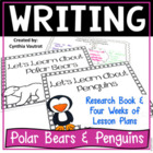 Let's Learn About Polar Bears and Penguins {Common Core Aligned}
