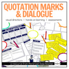 """Let's Learn About Quotation Marks!"" for the Primary Classroom"