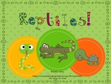 Let's Learn About Reptiles!  {A Mini Unit}