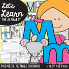 Phonics - Letter Sound M m Teaching Resource Packet