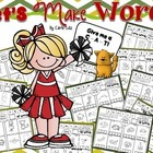 Let's Make Words!  Word Study Practice Pages