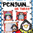 Let's Make a Penguin...or Three! Art, Glyph, Literacy, and
