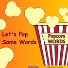 Let's Pop Sight Words game- smart board activity