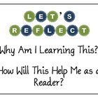 """Let's Reflect!"" Classroom Poster"