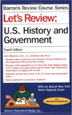 Barron's Let's Review U.S. History and Government - NEW -