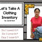 Let's Take A Clothing Inventory - Personal & Family Development