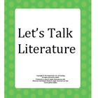 Let's Talk Literature