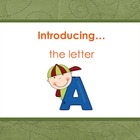 Letter Aa - Alphabet Lesson – Power Point  – Teaching the