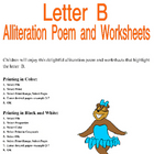 Letter B Alliteration Set