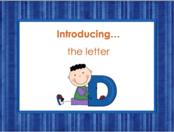 Letter Dd - Alphabet Lesson – Power Point – Interactive –