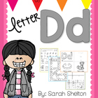 Letter Dd Practice for RTI