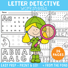 Phonics - Letter Detective - School/Home Activity to Learn