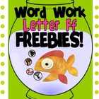Letter F Freebies!