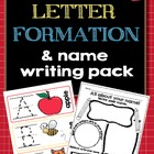 Letter Formation and Name Writing Pack
