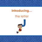Letter Jj - Alphabet Lesson – Power Point – Interactive –