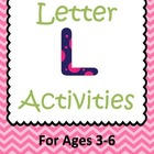 Letter L Activities- 46 Pages! {Common Core}