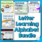Letter Learning: Alphabet Bundle