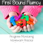 Letter Naming Fluency and Initial Sound Fluency Homework