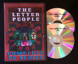Letter People DVD - Season 1 - Alphabet Learning