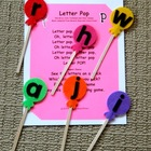 Letter Pop Flannel Board Set
