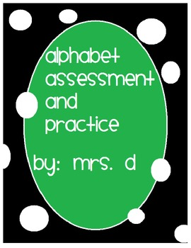 Letter Reading Practice and Assessments