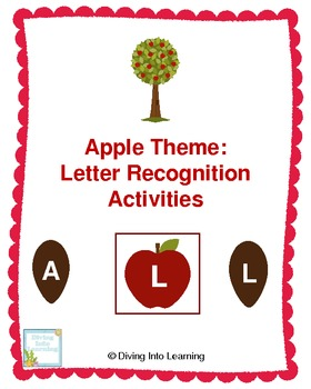 Apple Theme: Letter Recognition Activities
