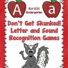 Letter Recognition and Sound Recognition Games - Don't Get