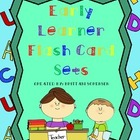 Letter, Sight Word, Numbers, Addition and Subtraction Flash Cards