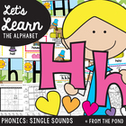 Letter Sound Hh Phonics Resource Packet