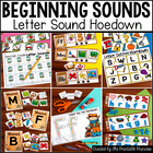 Letter Sound Hoedown {Centers & Activities to Teach Beginn