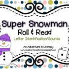 Letter Super Snowmen Roll & Read