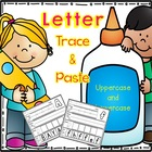 Letter Trace & Paste - Uppercase and Lowercase