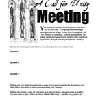 "Letter from Birmingham Jail — ""A Call for Unity"" Discussio"