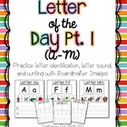 Letter of the Day Pt. 1 (A-M)