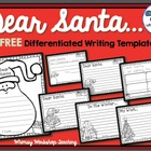 Letter to Santa Writing Set Freebie (Whimsy Workshop Teaching)