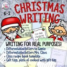 Letter to Santa freebie - Differentiated Emergent / Easy a