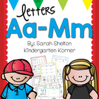 Letters A-M RTI - Grab and Go