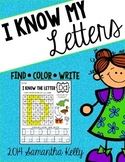 Letters - Find, Color, and Write