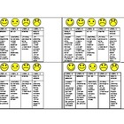 Responsible Behavior Quarter Sheet