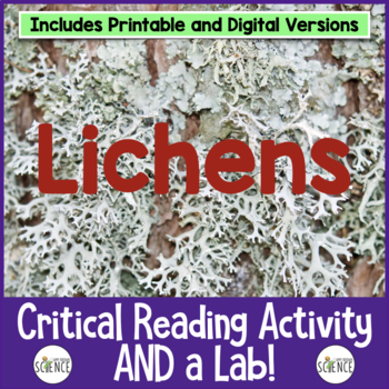 Lichens: Informational Text, Critical Reading, and Lab Activity