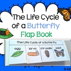 Life Cycle of a Butterfly ~ Flap Book {Kidsrcute}