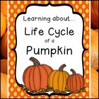 Life Cycle of a Pumpkin (PreK - 2nd)