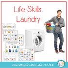 Life Skills Laundry Activities: Functional Vocabulary & Language